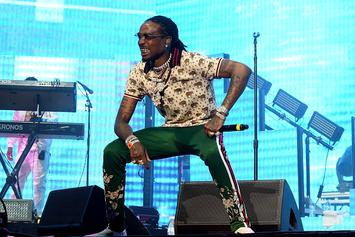Quavo Shows Off Skills In Full Court Pickup Basketball Game