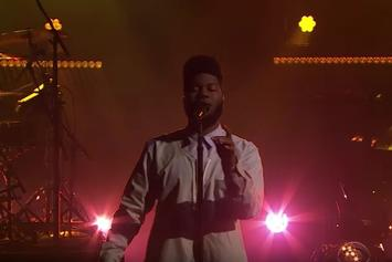 "Khalid Performs ""Location"" And ""Let's Go"" On The Late Late Show"