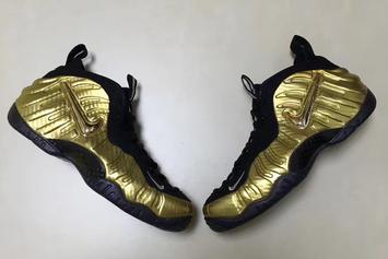 """""""Metallic Gold"""" Nike Air Foamposite Pro First Images Revealed"""