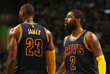Was Kyrie Irving Trolling LeBron With This Snapchat Video?