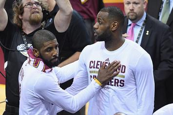 "Report: Kyrie Irving ""Not Going To Let LeBron 'Son' Him"""