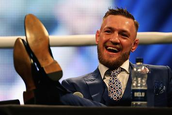 Conor McGregor's Sparring Partner Leaves Camp Amid Leaked Photos