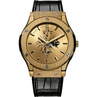 18k Gold Shawn Carter by Hublot 45mm Classic Fusion- $33,900