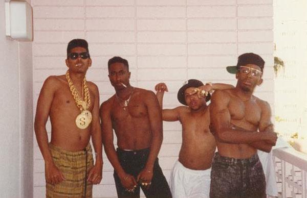 Tupac with the Digital Underground