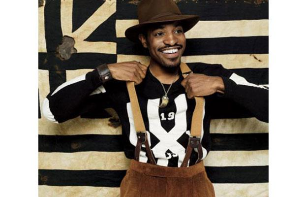Andre 3000 makes black and brown work-Benjamin Bixby