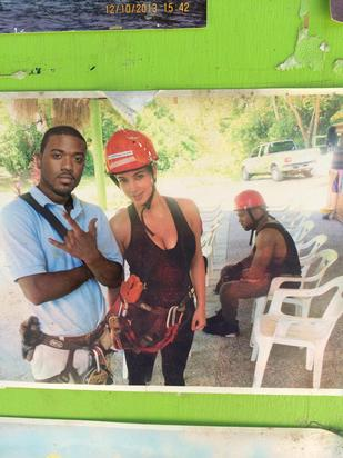 #SadKanye is salty while Kimmy Cakes posing with ex-lover Ray J