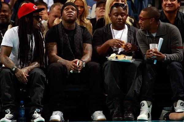 Lil Wayne, Birdman and Mack Maine