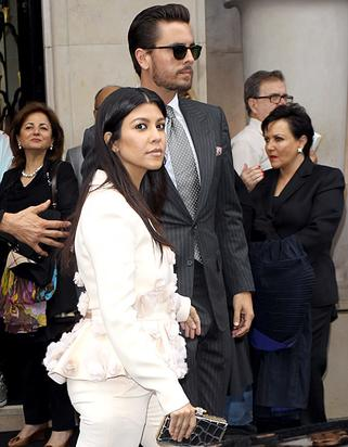 Scott Disick and Kourtney head to rehearsal