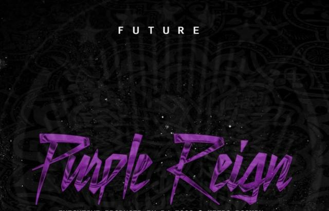 "Future's ""Purple Reign"" cover art"