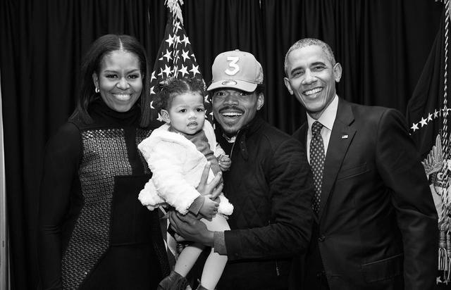 Chance The Rapper Obama