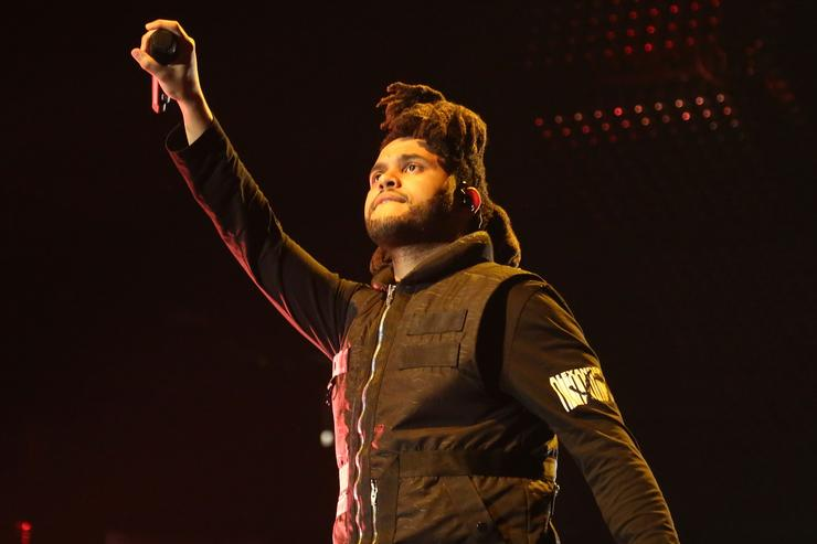 The Weeknd In Concert