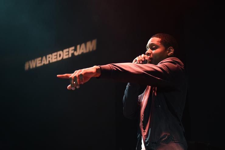 Lil Durk performs at Def Jam showcase