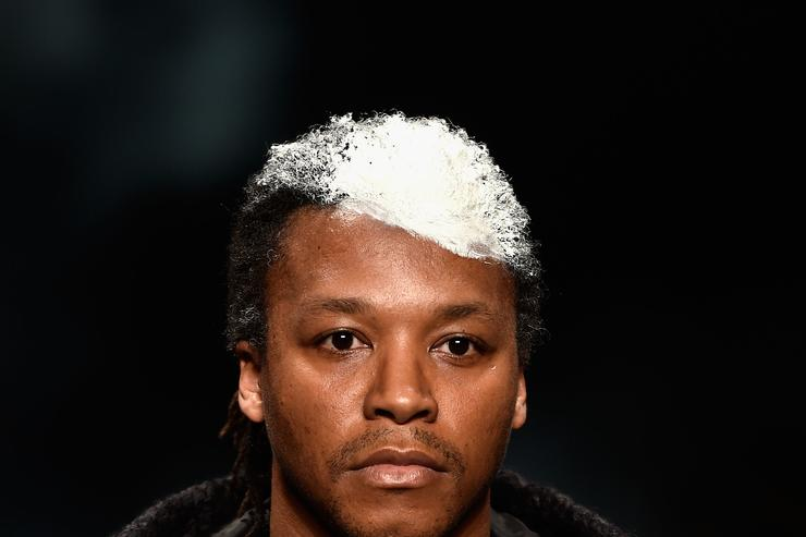 Lupe Fiasco Song For The Mute - Runway - Mercedes-Benz Fashion Week...