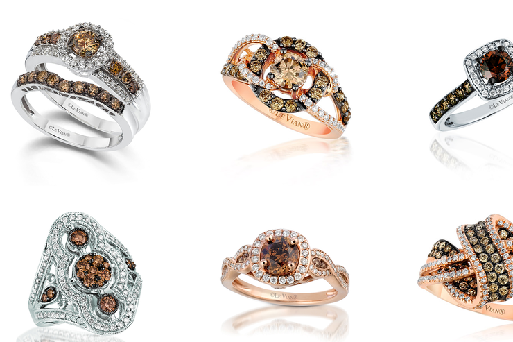 Levian chocolate diamonds