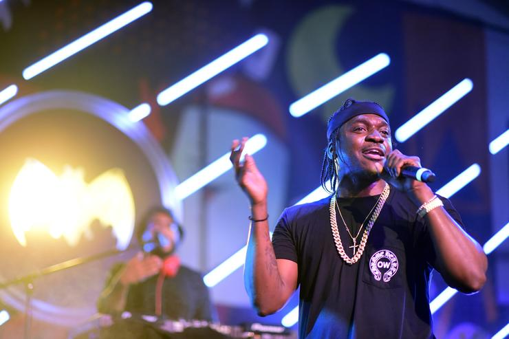 Pusha T At The Dean Collection X BACARDI Untameable House Party