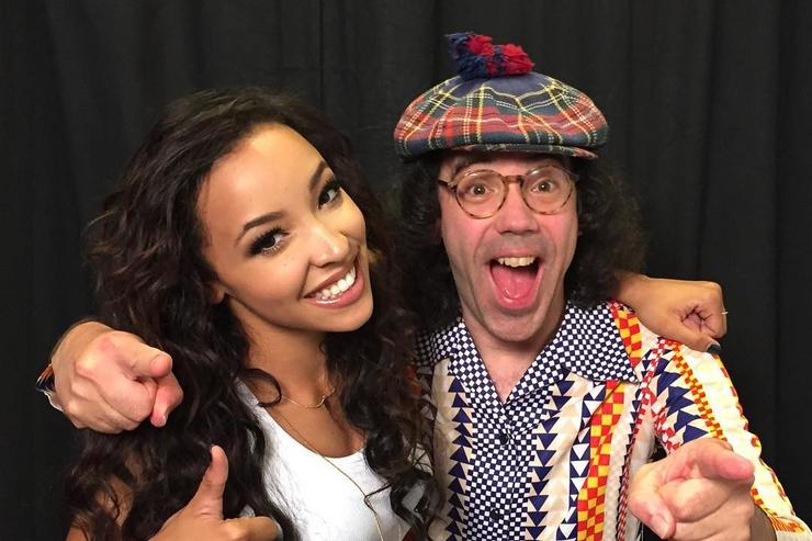 Nardwuar and Tinashe