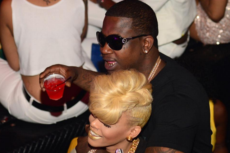 gucci mane and keyshia kaior in the club