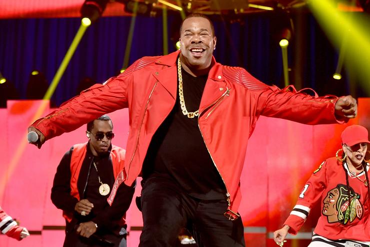 busta rhymes at his hot for the holidays concert