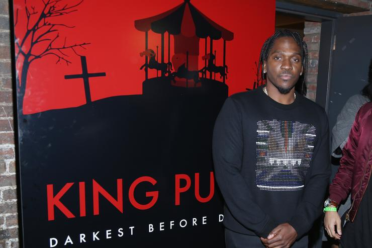 Pusha T at his 'darkest before dawn' movie screening