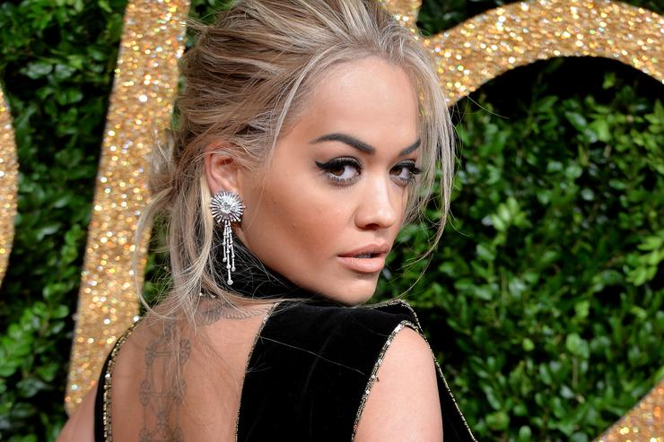 rita ora at the British Fashion Awards 2015