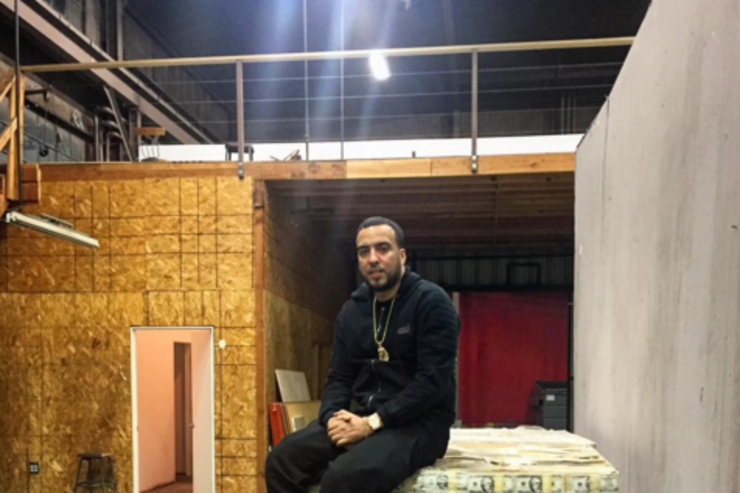 French Montana & a lot of cash