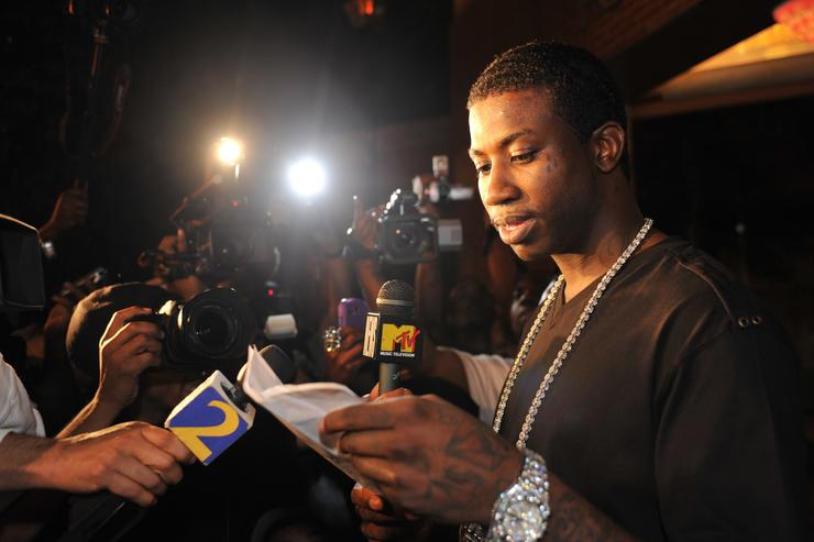 Gucci Mane press conference 2010