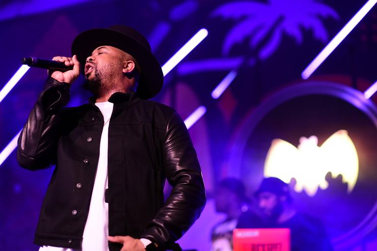 The-Dream performs at The Dean Collection X BACARDI Untameable House Party - Day 2