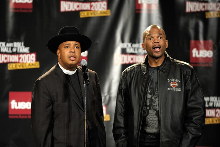 Run DMC at the 24th Annual Rock And Roll Hall Of Fame Induction Ceremony
