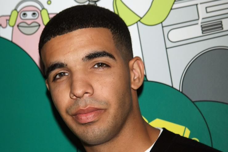 Drake at a Degrassi reunion on MTV in 2007.