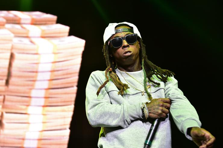 Lil Wayne Performs With Busta Rhymes