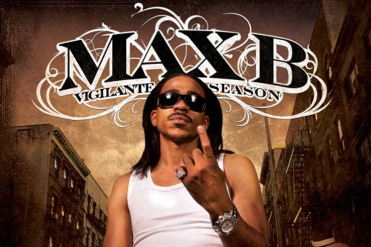 "Max B ""Vigilante Season"" cover art"