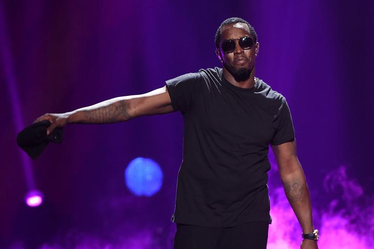 Diddy performs at the 2015 iHeartRadio Music Festival.