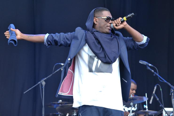 Jay Electronica performs on stage during The Big Chill Festival 2011