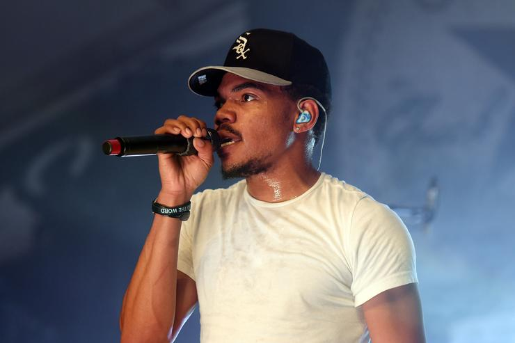 Chance the Rapper performs at THE FADER FORT Presented by Converse