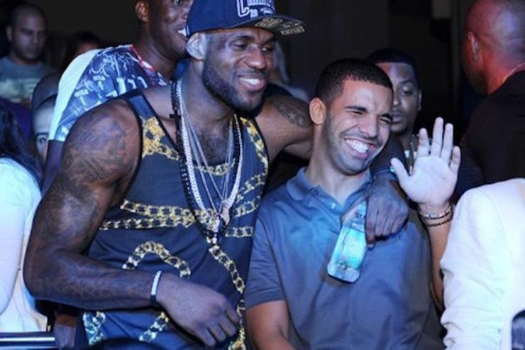 Drake and Lebron James