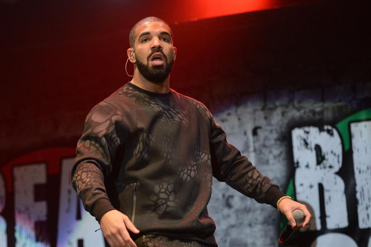 Drake performs onstage during REAL 92.3's 'The Real Show' at The Forum