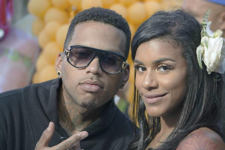 Kid Ink & fiance Asiah Azante