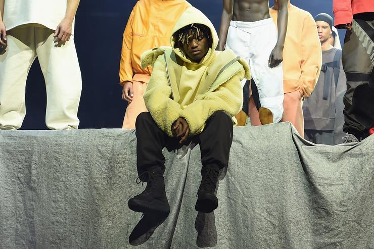 ian connor at yeezy season 3