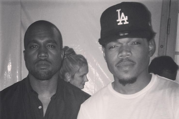 kanye West & Chance The Rapper
