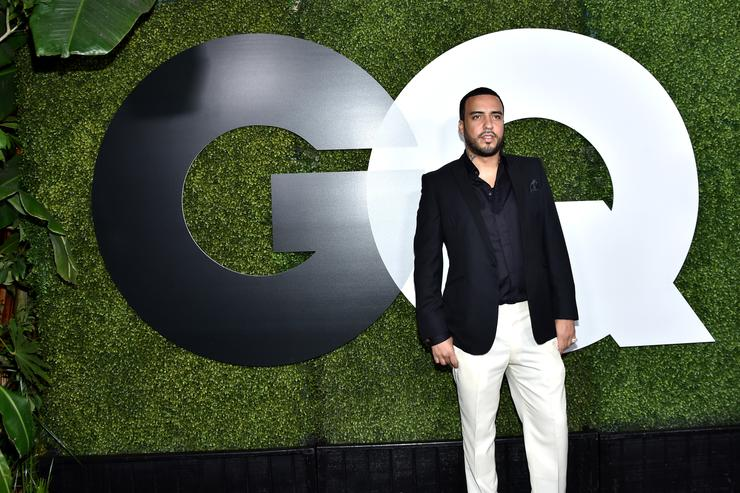 French Montana at the GQ 20th Men of the Year party.