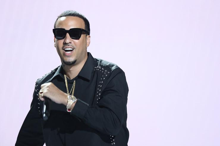 French Montana performs on stage at the 2015 BET Awards on June 28, 2015 in Los Angeles, California.