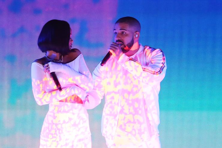 Drake and Rihanna Brit Awards