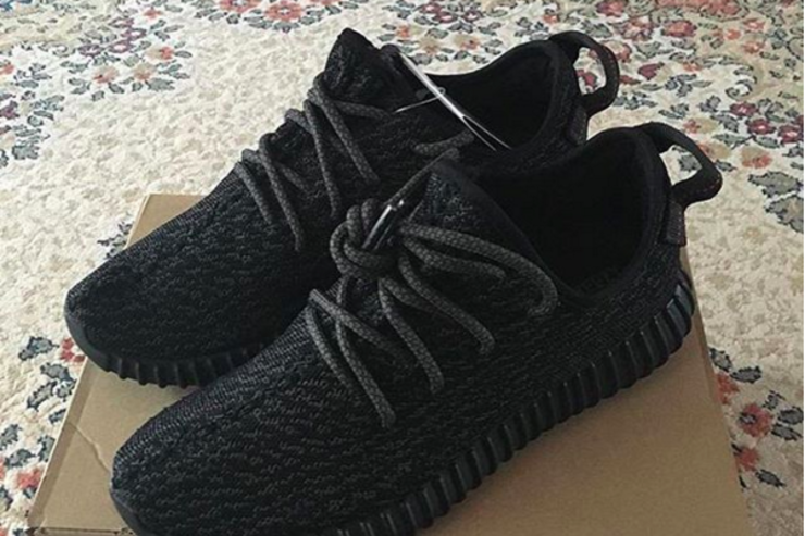 Pirate Black Yeezy Boost 350