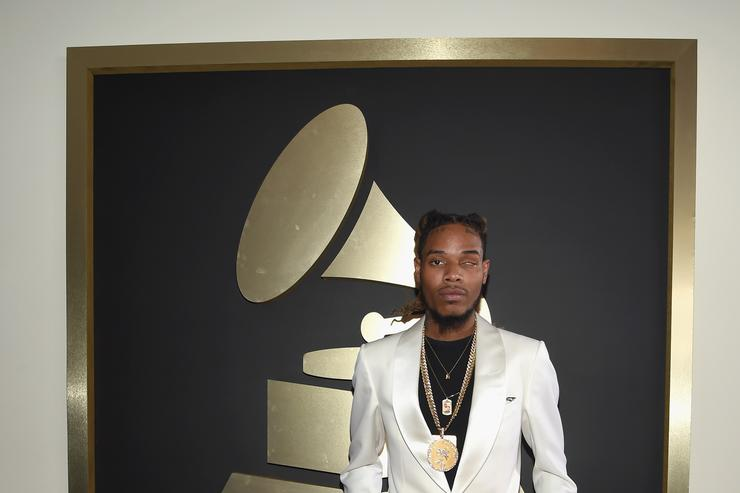 Fetty Wap at the Grammys.