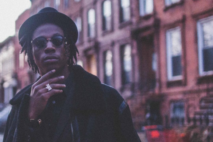Joey Bada$$ in the streets of Brooklyn.