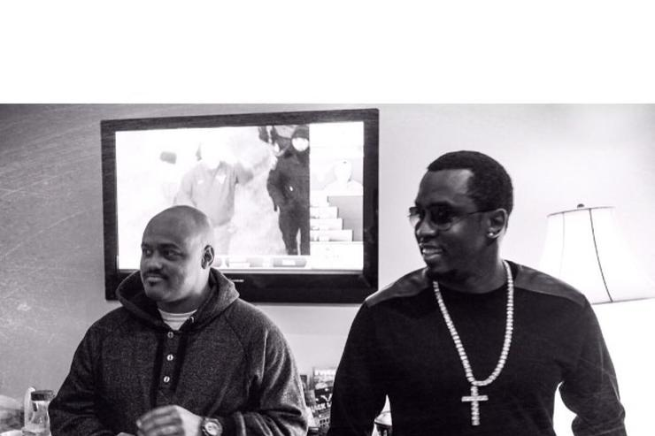 Punch and Diddy kickin' it.