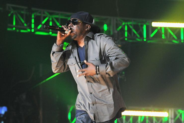 Phife Dawg performing on stage