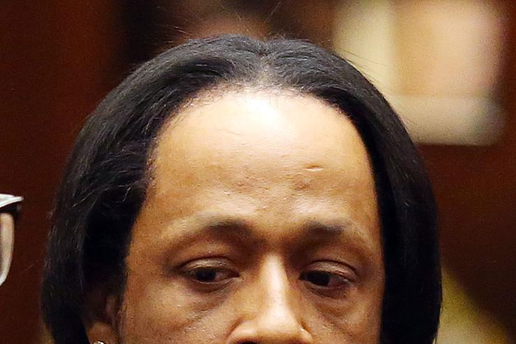 Katt Williams at a recent court arraignment.