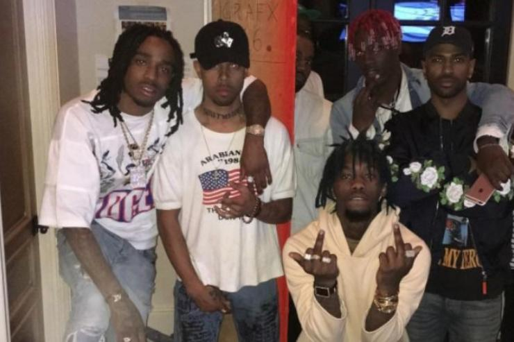 Migos, Kanye West, Big Sean Tyler The Creator in the studio