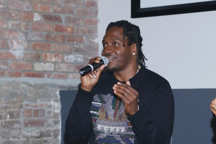 Pusha T attends his Tidal X Pusha T Present: Darkest Before Dawn Screening at Wythe Hotel on December 10, 2015 in Brooklyn, New York.